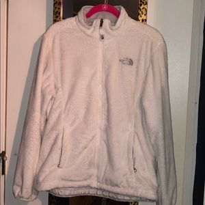 White Osito North Face sweater